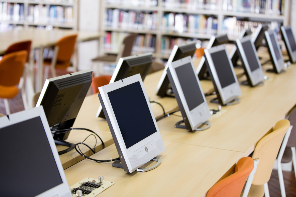 PS Lightwave $7 Billion Emergency Connectivity Fund Deadline Looms for Schools and Libraries Smart Tablets in a Library
